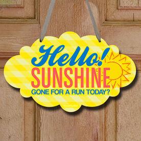 Hello Sunshine Decorative Cloud Sign