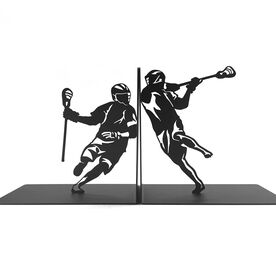 Lacrosse Bookends Lacrosse Players