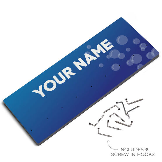 Swim Hook Board Your Name With Bubbles