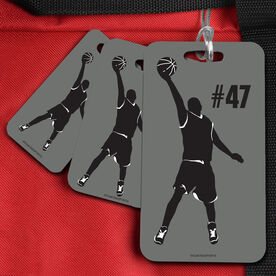 Basketball Bag/Luggage Tag Personalized Male Player