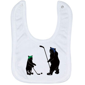 Hockey Baby Bib - Bears