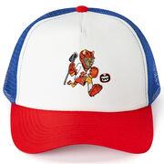 Seams Wild Lacrosse Trucker Hat - Pummell