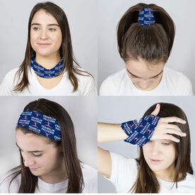 Gymnastics Multifunctional Headwear - Custom Team Name Repeat RokBAND