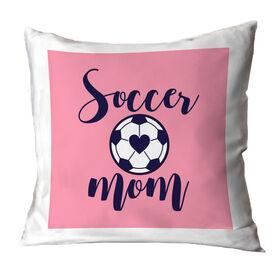 Soccer Throw Pillow - Soccer Mom