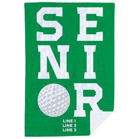 Golf Premium Blanket - Personalized Senior