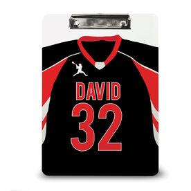 Guys Lacrosse Custom Clipboard Personalized Lacrosse Jersey