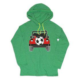 Women's Soccer Lightweight Hoodie - Soccer Cruiser