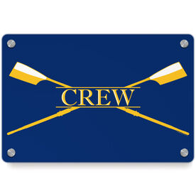 Crew Metal Wall Art Panel - Crest