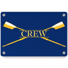 Crew Metal Wall Art Panel - Crest