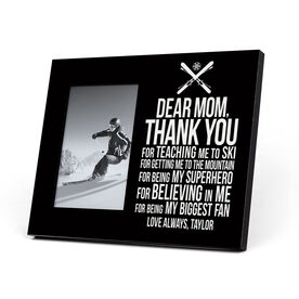 Skiing Photo Frame - Dear Mom