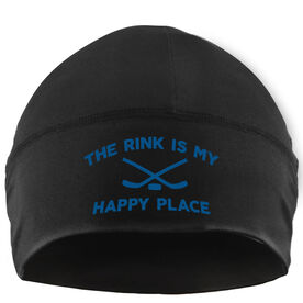 Beanie Performance Hat - The Rink is My Happy Place
