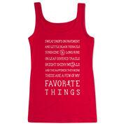 Women's Athletic Tank Top - Runner's Favorite Things
