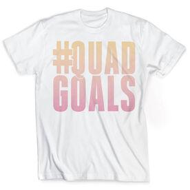 Vintage Cross Training T-Shirt - #QuadGoals