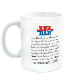 Running Coffee Mug - My Dad Is A Runner