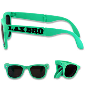 Foldable Lacrosse Sunglasses Lax Bro