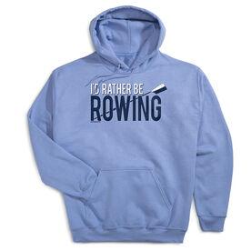 Crew Standard Sweatshirt I'd Rather Be Rowing