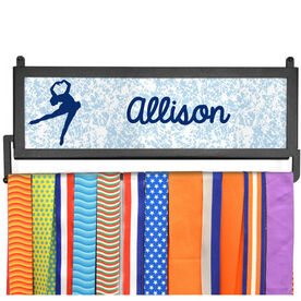 AthletesWALL Medal Display - Personalized Figure Skater