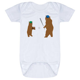 Baseball Baby One-Piece - Bears