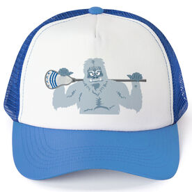 Guys Lacrosse Trucker Hat You Yeti To Lax?