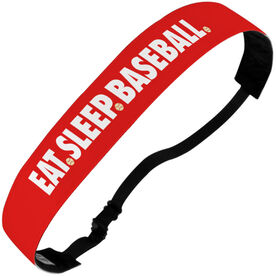 Baseball Julibands No-Slip Headbands - Eat Sleep Baseball