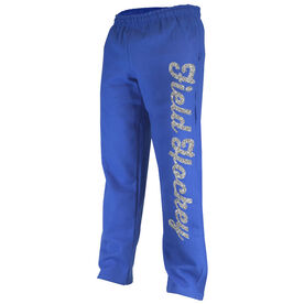 Field Hockey Fleece Sweatpants Field Hockey Script