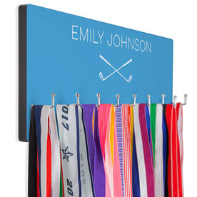 Golf Hook Board Crossed Clubs