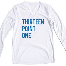 Women's Long Sleeve Tech Tee - Thirteen Point One