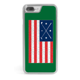 Golf iPhone® Case - American Flag