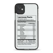 Guys Lacrosse iPhone® Case - Lacrosse Facts
