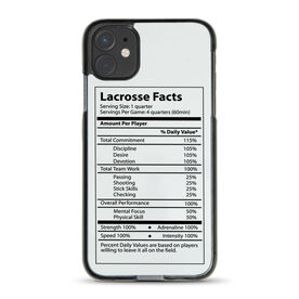 Guys Lacrosse iPhone® Case - Lacrosse Facts