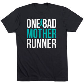 Running Short Sleeve T-Shirt - One Bad Mother Runner (Bold)