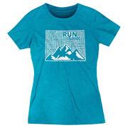 Women's Everyday Runners Tee Colorado State Runner