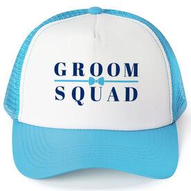 Personalized Trucker Hat - Groom Squad (Bowtie)