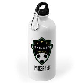Soccer 20 oz. Stainless Steel Water Bottle - Custom Logo