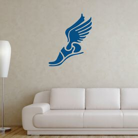 Winged Foot Removable GoneForaRUNGraphix Wall Decal
