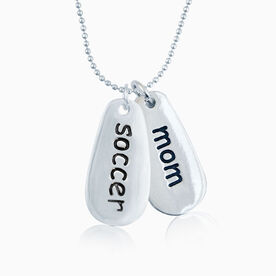 SportWORD SOCCER MOM Necklace