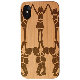 Cheerleading Engraved Wood IPhone® Case - Cheer Squad