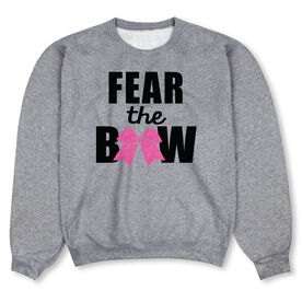 Cheerleading Crew Neck Sweatshirt - Fear the Bow