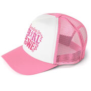 Running Trucker Hat - Running On Girl Power
