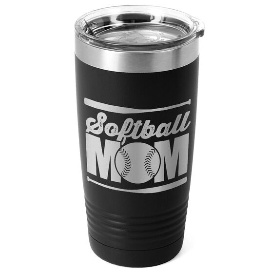 Softball 20 oz. Double Insulated Tumbler - Mom