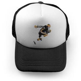 Football Trucker Hat Rocket Speed