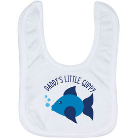 Swimming Baby Bib - Daddy's Litttle Guppy