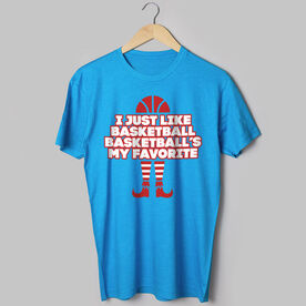 Basketball Short Sleeve T-Shirt - Basketball's My Favorite