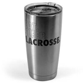 Lacrosse 20 oz. Double Insulated Tumbler - Eat Sleep Lacrosse