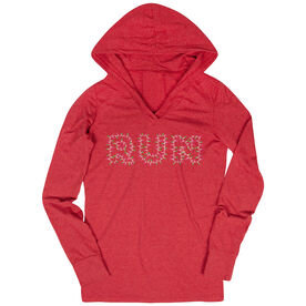 Women's Running Lightweight Performance Hoodie Run Lights