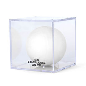 Guys Lacrosse Square Ball Display