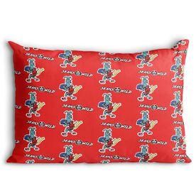 Seams Wild Football Pillowcase - Spiral (Pattern)