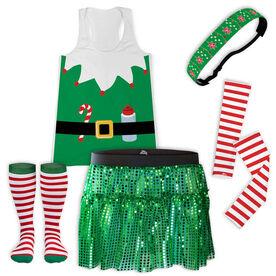 Elf Runner Running Outfit