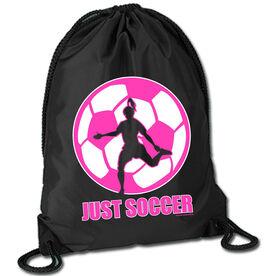 Soccer Sport Pack Cinch Sack Just Soccer (Female)