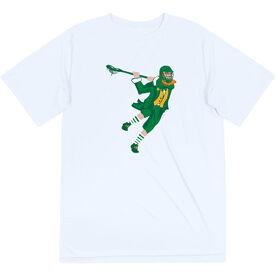 Guys Lacrosse Short Sleeve Performance Tee - St. Hat-Tricks